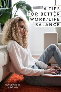 Tips for Better Work/Life Balance | Workplace Wellness | Looking for time management, schedule and self care tips for sustaining yourself while you work at home as an entrepreneur? Click for health coaching tips on how to maintain health while building your business or side hustle. | Setting Boundaries | Work From Home Tips | Four Wellness Co. #work/lifebalance #entrepreneurtips #healthcoaching #workplacewellness #sidehustle Site Bio, Blog Bio, Weight Loss Tips, Lose Weight, High Yield Savings Account, Keto On A Budget, Wordpress, Workplace Wellness, Work From Home Tips
