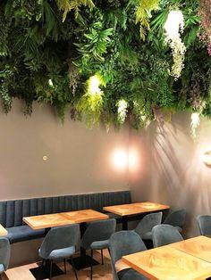 Precious Tips for Outdoor Gardens - Modern Fake Plants Decor, Faux Plants, Plant Decor, Luxury Homes Interior, Home Interior Design, Interior Decorating, Ceiling Decor, Ceiling Design, Restaurant En Plein Air