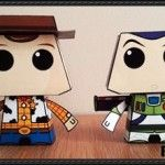 Disney: Toy Story - Sheriff Woody and Buzz Lightyear Free Paper Toys Download