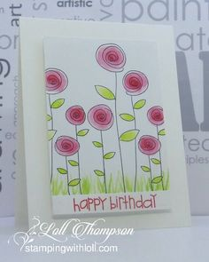 card making ideas techniques Hi everyone. We are already more than half way through the month of March, which means its time for a reminder post for the CAS Watercol. Watercolor Birthday Cards, Watercolor Cards, Card Drawing, Paint Cards, Happy Birthday Cards, Cute Cards, Homemade Cards, Envelopes, Cardmaking