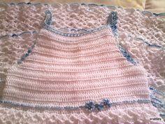 el blog de anamary: tutorial vestido ganchillo niña