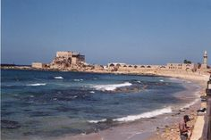 Caesarea, Israel.  I fell in love with this place.  I didn't want to leave.  We sat in the excavated outdoor theater looking out to the sea.  It was beautiful.  I would love to live there and help in more excavations.  This was one of my favorite places!