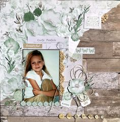 Dream Love Believe - Kaisercraft - Memory Lane Collection Bridal Shower Scrapbook, Wedding Scrapbook, Baby Scrapbook, Travel Scrapbook, Scrapbook Cards, Scrapbook Templates, Scrapbooking Layouts Vintage, Mixed Media Scrapbooking, Scrapbook Layout Sketches