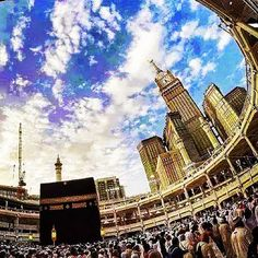 The First House [of Worship] Established For Mankind Was That At Makkah    Blessed And A Guidance For The Worlds. Quran [Al Imran .