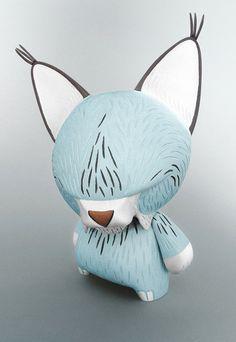 Lynx by Charles Rodriguez, via Behance