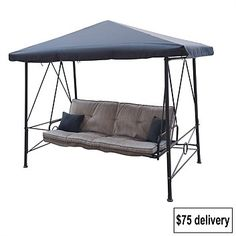 Briscoes - Outdoor Creations Velago Gazebo Bed Swing