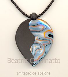 Imitação de abalone na cerâmica plástica | by Beatriz Cominatto