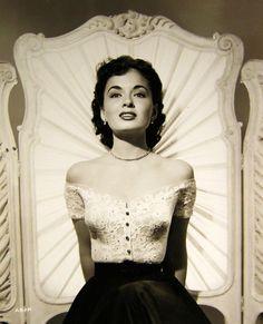 The lovely Ann Blyth, 1950s