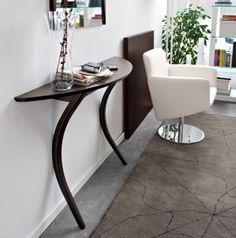 Modi Console Table Calligaris Soft Curves Define The 2 Leg Design Attaches To