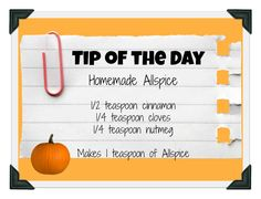 Tip of the Day…