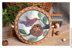 "Japanese patchwork, японский пэчворк. Кошелек ""Весенние заботы"". Handmade, quilt, applique, japanese quilt"