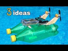 How to make a Rubber Band powered Car - Air Car - YouTube
