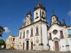 Igreja de Nossa Senhora do Carmo, em João Pessoa (Foto: Rammom Monte / G1 PB)