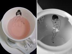Sumergidas en té