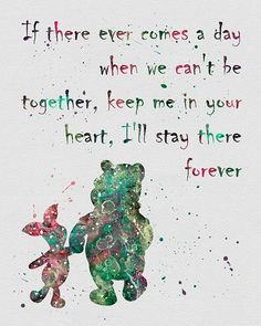 Winnie the Pooh Quote 2.             I Promise!!                                                                                -J