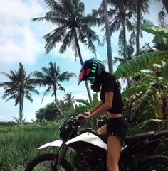 Travel, Cafe Racers and Fashion. Come with me on an adventure. Fille Et Dirt Bike, Summer Goals, Insta Photo Ideas, Dirtbikes, Summer Aesthetic, Summer Bucket, Biker Girl, Adventure Is Out There, Summer Vibes