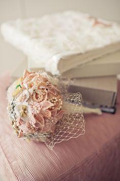 Bouquet broche