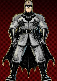 Batman by Terry Huddleston *