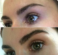 Or, grab an eyebrow growth serum to get your brows thicker naturally over time. 17 Genius Tricks For Getting The Best Damn Eyebrows Of Your Life Best False Eyelashes, How To Grow Eyelashes, Fake Lashes, Bushy Eyebrows, Natural Eyebrows, Blonde Eyebrows, Plucking Eyebrows, Natural Makeup, Natural Beauty