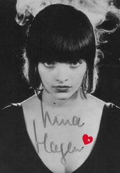 Nina Hagen, (born 11 March 1955) is a German singer and actress. She has performed throughout the world for over 40 years.