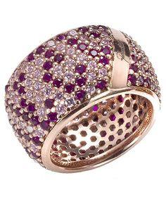 Fascia in argento e zirconi http://www.argentoro.it/it/anelli/anello-fascia