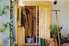 Build this garden tools shed with how-to instructions from This Old House. | Photo: Jonelle Weaver/Jupiter Images | thisoldhouse.com