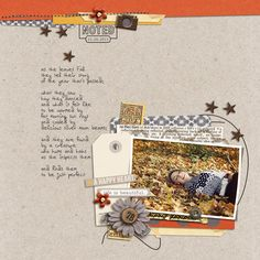 Autumn layout created by Lor featuring Reflection by Sahlin Studio