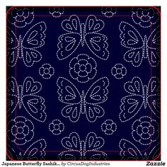 sashiko butterfly - Google Search