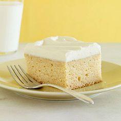 Sugar-Free Vanilla Snack Cake