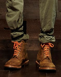 Add a pop to your boots with some bold laces! #Trendy #Fashion