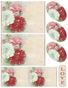 Lilac & Lavender: Digital collage