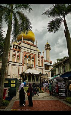 Sultan Mosque (Masjid Sultan) Arab Street, Kampong Glam, Singapore    ©Sam Antonio Photography