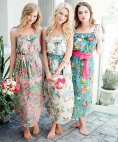 Résultats de recherche d'images pour «casual beach wedding bridesmaid dresses»