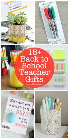 15+ DIY Teacher Gift