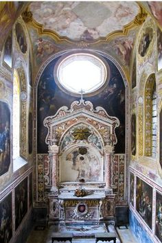 Taking Respite from the City Chaos in San Gregorio's Cloister    Soothe your soul in peaceful San Gregorio Armeno, it's hard to believe that such a spot can exist among the madness of the Spaccanapoli.    Photo Caption: San Gregorio Armeno in Naples, Italy.    Photo by armando46/Flickr.com