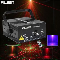 LED Laser Stage Lighting 5 Lens 80 Patterns For DJ Disco Party - free shipping worldwide