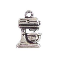 BULK 40 pcs - Mixer Cooking Charm 16x11mm - Ships from Texas by TIJC - SP0279B by TIJC on Etsy