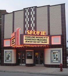 Skokie Theatre, Skokie, Illinois.