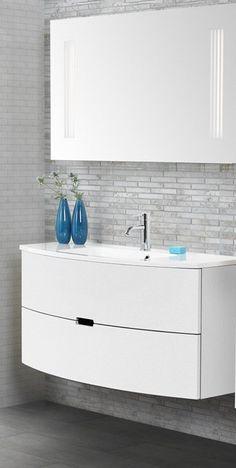 Badezimmer Komplettset ohne Spiegel Weiß (4-teilig) Jetzt ...   {Badmöbel weiss modern 79}