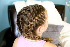 Waterfall into Double French Braids | Cute Girls Hairstyles