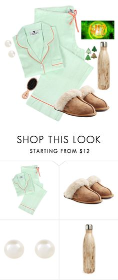 """""""// bad headache & watching the wiz \\"""" by sunglamourandpreppiness ❤ liked on Polyvore featuring Malabar Bay, UGG Australia, Accessorize, S'well and Sephora Collection"""