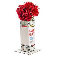 Our Hasbro Monopoly Personalized Centerpiece will give your party an fun, original look. Choose the font and wording to personalize this centerpiece.
