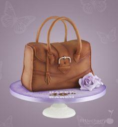 Handbag Cake by Little Cherry