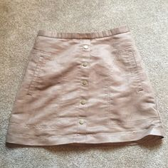 suede skirt from h&m H&M Skirts