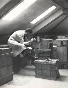 Zürich, ETH Zürich, Hauptgebäude (HG), Hauptbibliothek, Magazin im J-Stock.