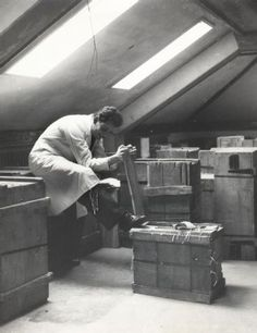 Zürich, ETH Zürich, Hauptgebäude (HG), Hauptbibliothek, Magazin im J-Stock. Ans_00900