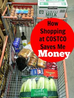 How Shopping at Costco Saves Me Money | Life as Mom - Shopping at Costco can be a tricky affair. All the things are there! But, you can save money shopping at Costco. Here's how: