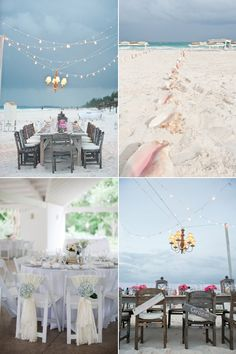 #Decoración #boda en la  #playa
