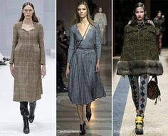 Fall/ Winter 2016-2017 Print Trends: Prince of Wales Checks