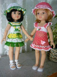 Летние наряды для паолочек. / Одежда для кукол / Шопик. Продать купить куклу / Бэйбики. Куклы фото. Одежда для кукол